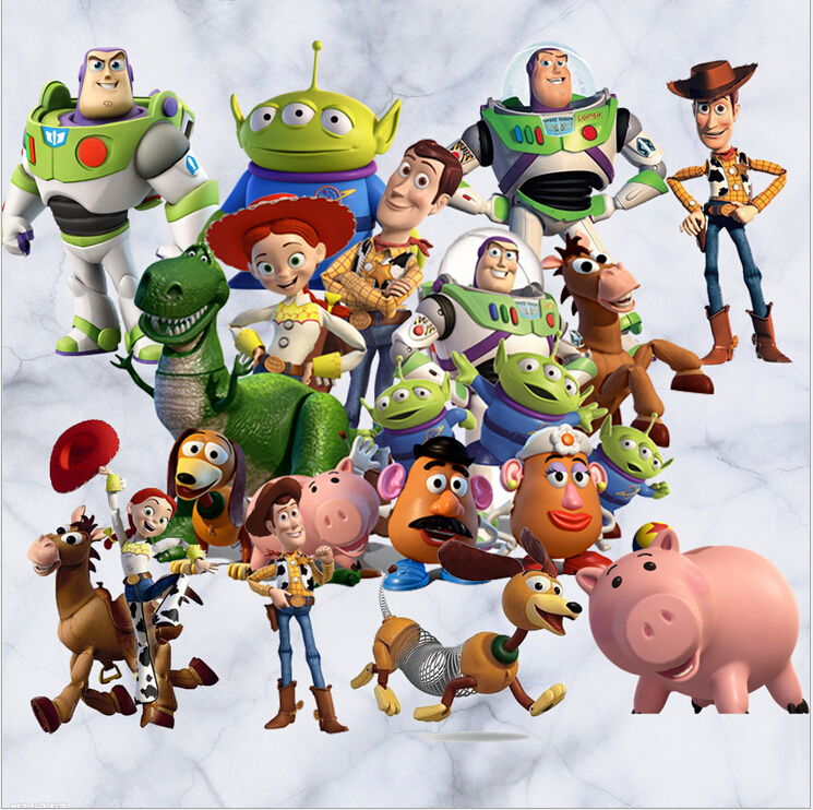 Hot Toy Story Cartoon Childrenu0027s Room Wall Stickers Living Room Painting  Decorative Stickers Free Shipping( Part 91