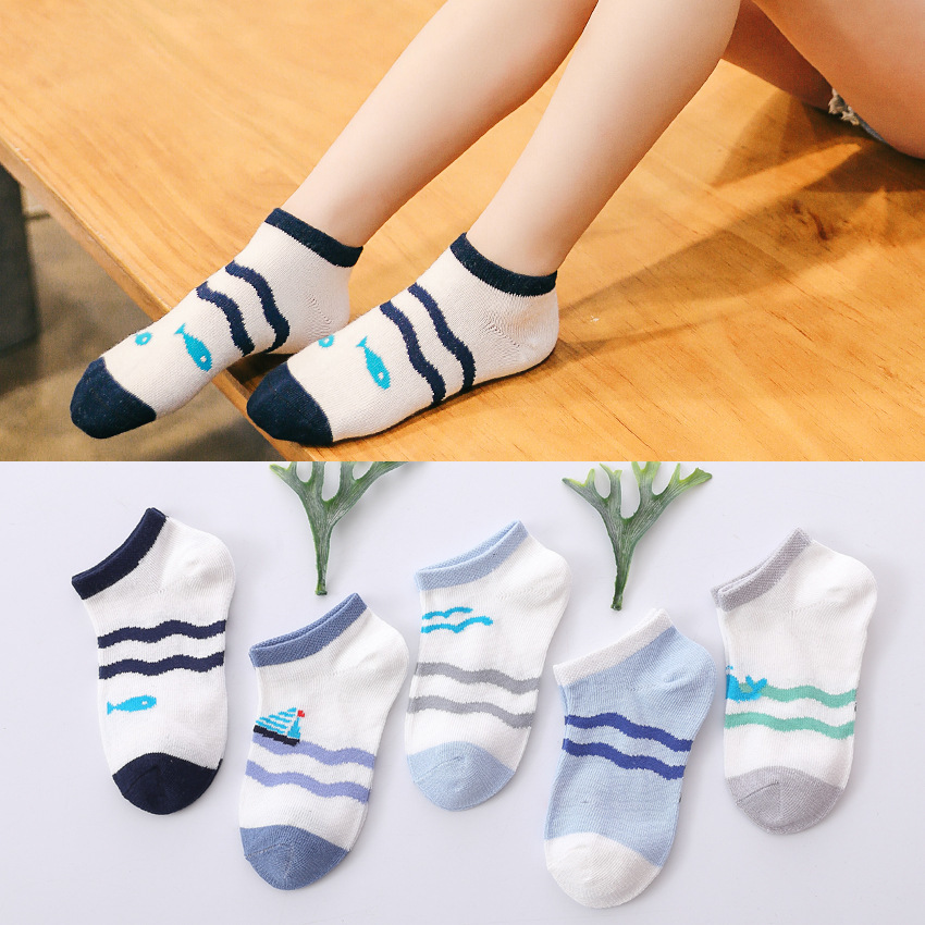 Kids Hot Sale Cute Hosiery For 0-4 Years Combed Cotton Knee High Socks