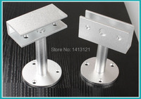 Free Shipping 10cm Glass Clamps Glass Support Bracket Feet Glass Holder Glass Partition Support Leg Hotel