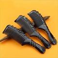 Hot sale 1pcs Natural Yak Horn handmade Comb Tip-Handle Hair Care professional tangle brush TT hair combs gift