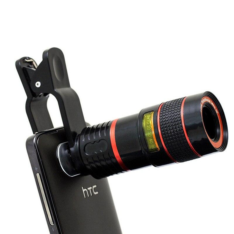 imágenes para Kry 8x 8x lente zoom telescopio óptico de la cámara del teléfono para xiaomi mi6 lente para iphone 6 lentes lentes 6 s para samsung galaxy s7