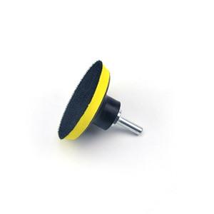 Image 3 - POLIWELL 3 4 5 Inch M10 Thread Self adhesion Sanding Pads Hook & Loop Sandpaper Sucker Pad Auto Car Grinding Abrasive Tool Parts