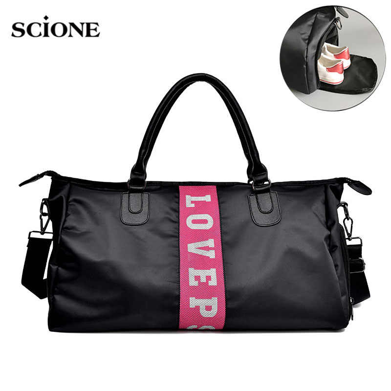 d7c4290b9075 Fitness Gym Bag for Handbags shoes Portable Training bags GYmtas women  Travel Yoga sac de sport