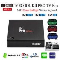 Mesuvida KII PRO TV Box Quad Core Amlogic S905 T2 S2 Android 5 1 1 2
