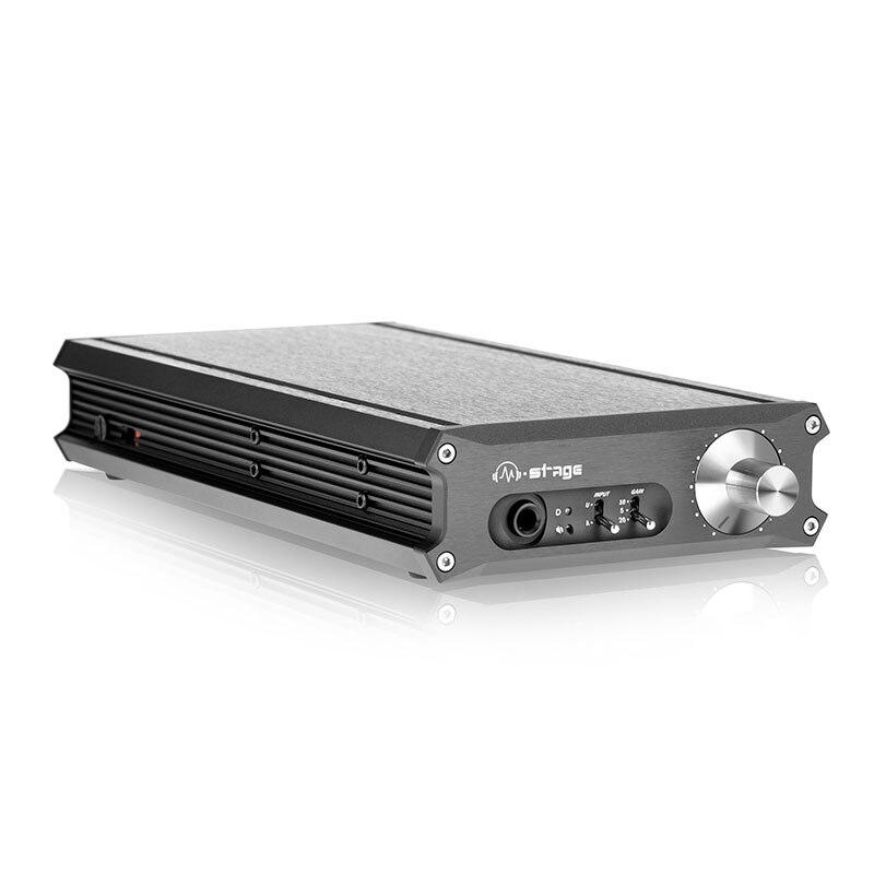 Amplificateur de casque d'amplificateur d'écouteur d'équilibre complet de classe A de HPA-3U avec le Support de DAC XOMS 24Bit/192 kHz DSD64 115 V/230 V
