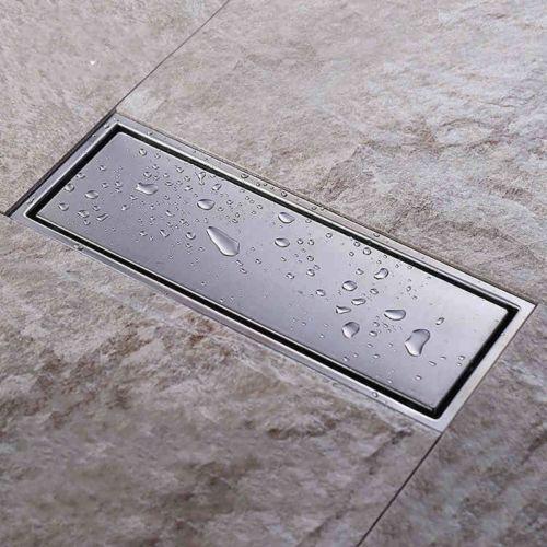Égouttoir linéaire de douche de Drain de plancher d'acier inoxydable de 300mm 12