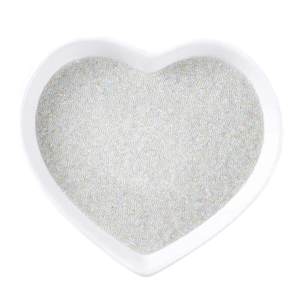 100G 0.5 ~ 0.8 Mm Trong Suốt Trong Suốt AB Màu Khuynh Hướng Nghệ Thuật Trứng Cá Muối Ren Manicures Móng Tay Micro Hạt Nhỏ Phụ Kiện không Lỗ