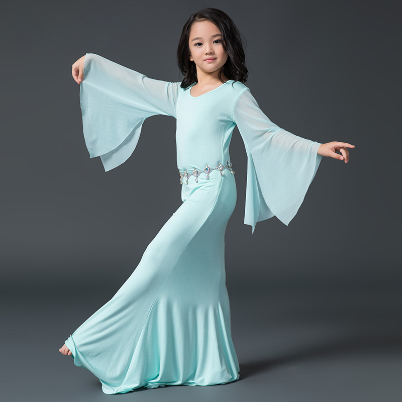 194a6d37afa New Sexy Indian Professional Dance Belly Dress Girls Children Kids  Professional Sexy Dancing Dresses Not Including Waist Chain-in Belly Dancing  from Novelty ...