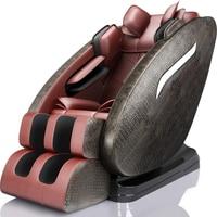 Электрический массажный стул домашний автоматический шиацу Acupoint разминающий Мультифункциональный робот полный массажер для тела космиче