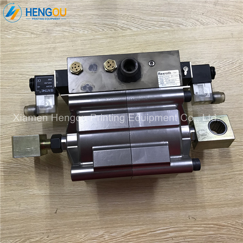 C2.184.1051 Heidelberg cylinder/valve unit D100 H30/30 Heidelberg SM102 CD102 machine original heating element for lx h r sereis h30 r1 h30 r2 h30 r3