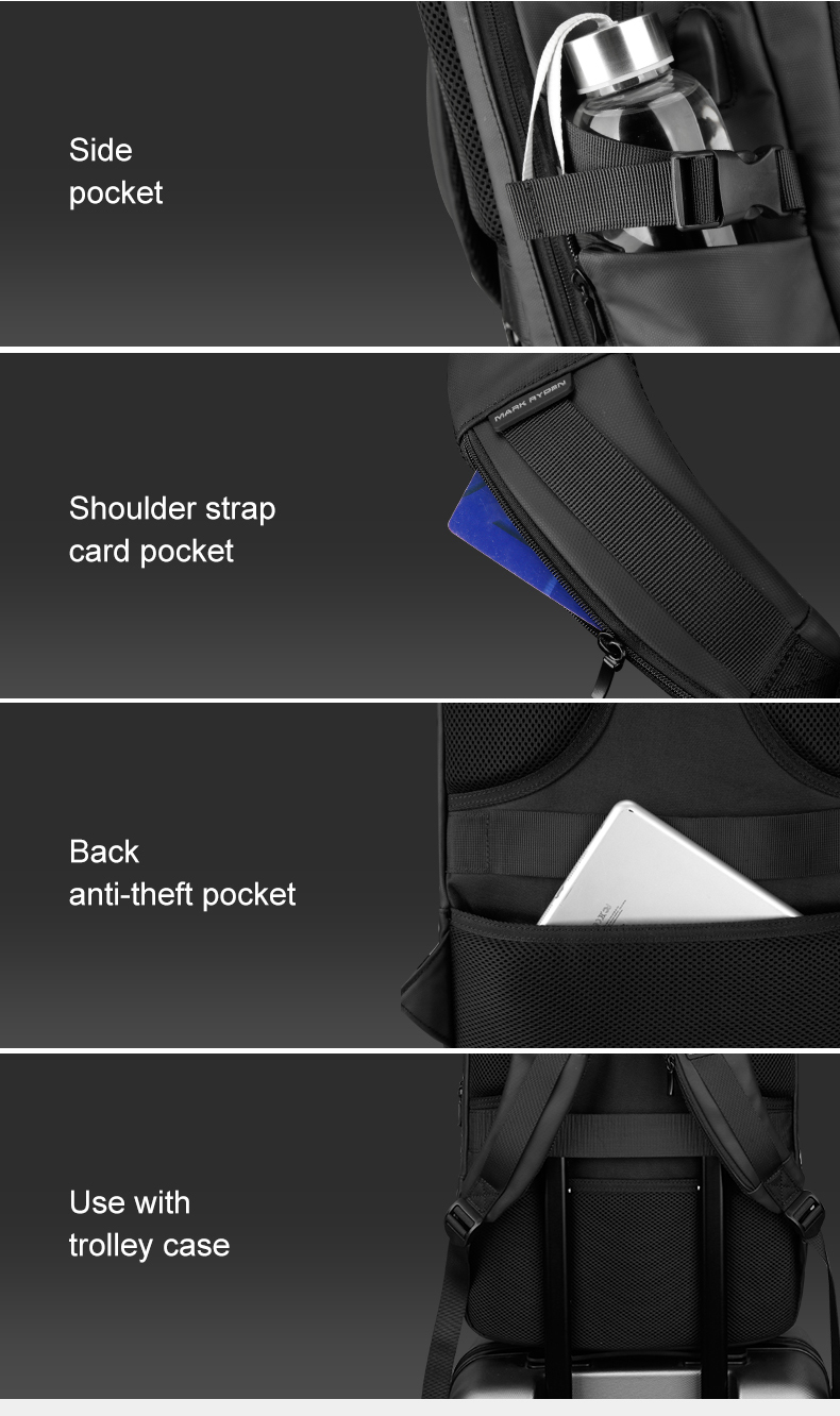 HTB13MWkRAvoK1RjSZFwq6AiCFXaT - Mark Ryden Man Backpack Multifunctional Waterproof 15.6inch Laptop Multi-layer Pockets Bag Man USB Charging School Backpack