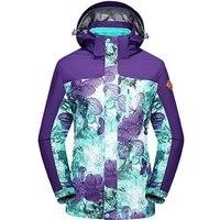 Новые модные женские туфли Soft Shell Куртки зимние 3in1 восхождение пальто с капюшоном Водонепроницаемый ветрозащитный Повседневное спортивный
