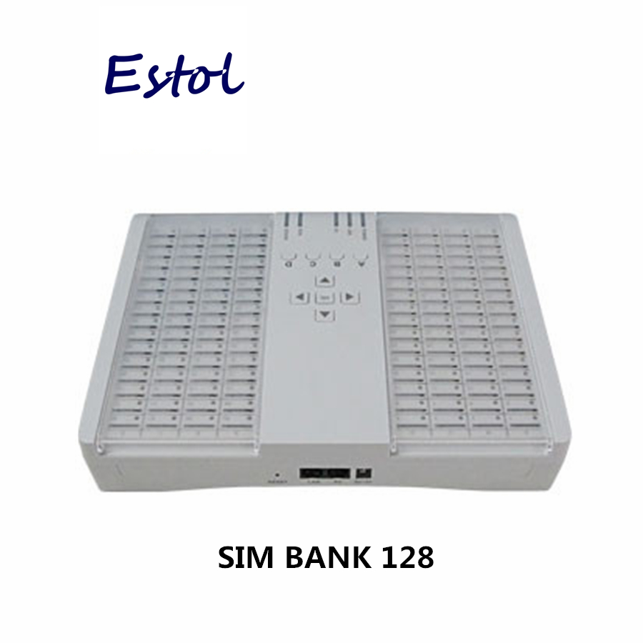 Original DBL SIM Bank SMB128 SIM server for GOIPs work with DBL GOIPS GSM VoIP Gateway