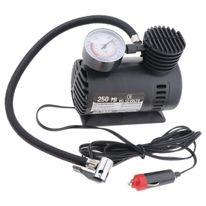 Image 4 - Portable Electric Mini 12V Air Compressor Pump Car Tyre Tire Inflator Pump Inflador de neumaticos bomba pneu gonfleur pompe