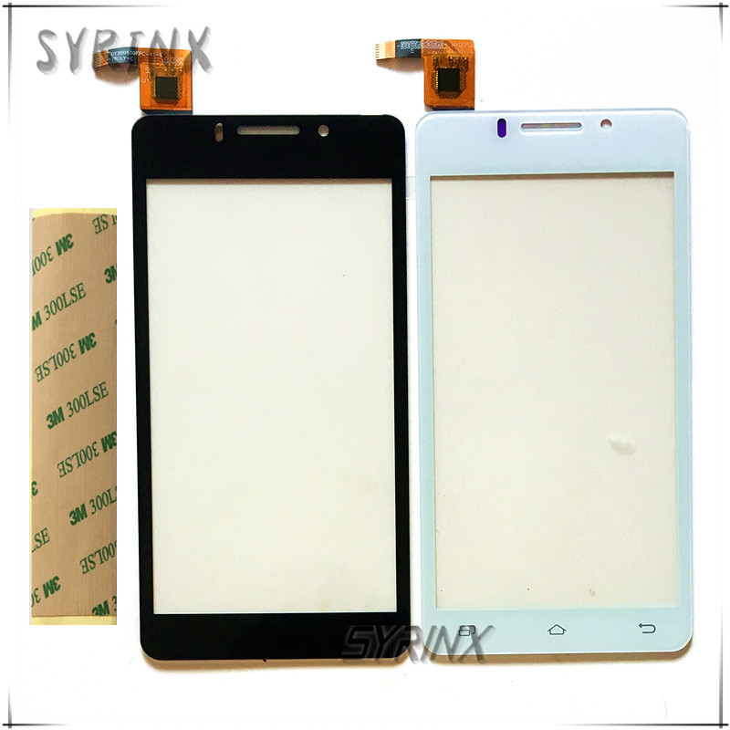 Syrinx With Tape 4.5 Touch Screen For DNS S4503 S4503Q innos i6 i6c Front Glass Panel Digitizer Sensor Replacement Touchscreen