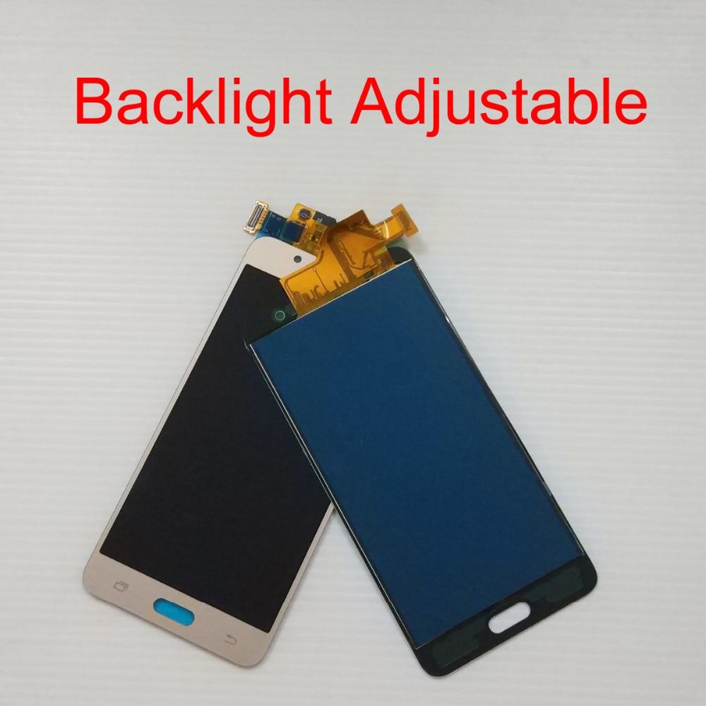For Samsung Galaxy J5 2016 J510 J510F J510FN LCD Display Panel + Touch Screen Digitizer Sensor Assembly Backlight Adjustable