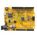 Placa MCU Chip de Versão Melhorada com ATmega328P Uno R3 Melhorado versão para Arduino com Agulhas de Linha Livre e Anti Estática saco