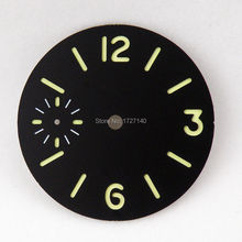 36.2mm sandwich dial fit Unitas ETA 6497 6498 Luminous sterile Dial Watch DA15
