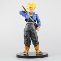 24cm Dragon Ball Z Trunks Action Figure PVC Collection figures toys for christmas gift brinquedos Free shipping