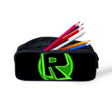 Make up Cases Roblox Games Printing  Women Cosmetic Bags 3D Pencil Pouch Children Girl Holder Boys Travel Portable Supplies