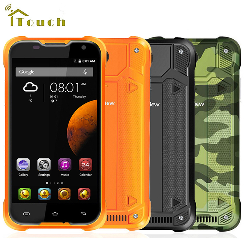 "Цена за В Наличии Оригинала BLACKVIEW BV5000 4G LTE Водонепроницаемый MTK6735 5.0 ""Quad Core HD Android 5.1 Мобильный Сотовый Телефон 2 ГБ RAM 16 ГБ ROM"