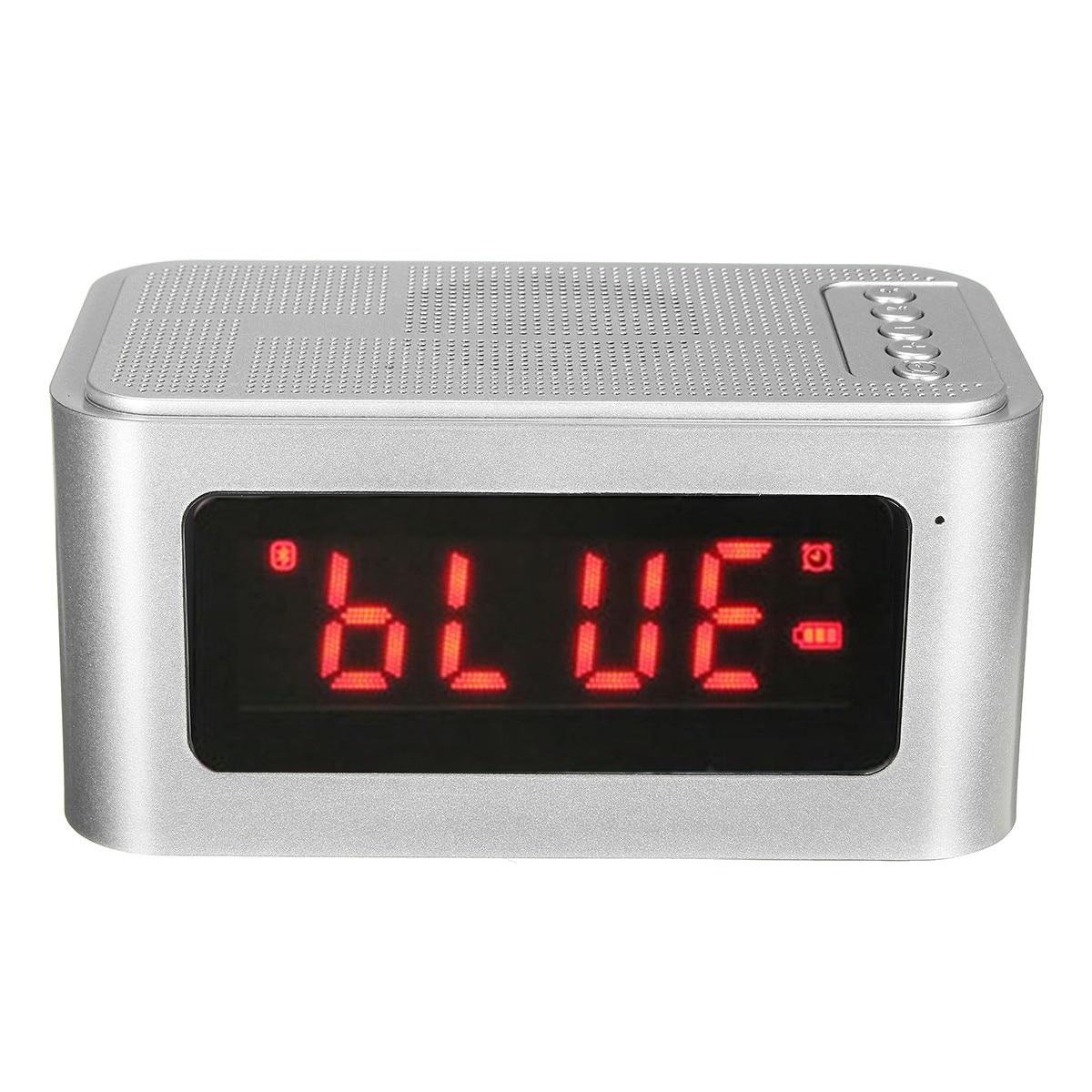 New Design Bluetooth 4 0 Digital Alarm Clock With Speaker