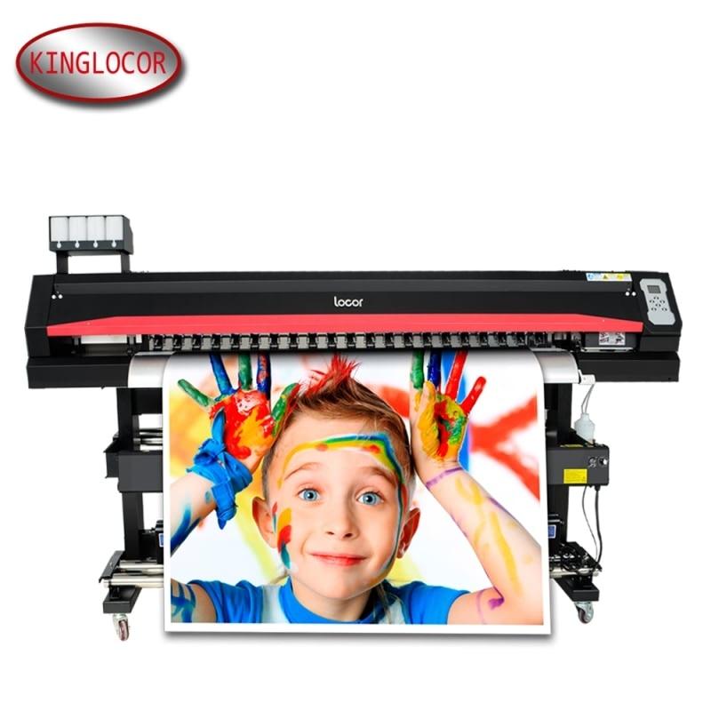 US $4700 0 |locor/Lecai 1 6m/5Feet Large /Wide Format Digital Flex Banners  Label Printer ,Vinyl Photo Outdoor Advertising Printing Machine-in Printers