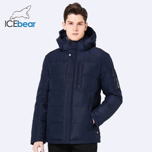 ICEbear 2017 Breathable Winter Jacket Men Thickening Casual Men Winter Short Coat For Male Stand Collar Parka 17MD818
