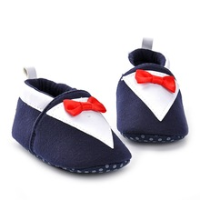 2017 new autumn warm tie baby shoes 0-1 year old baby soft shoes  L178