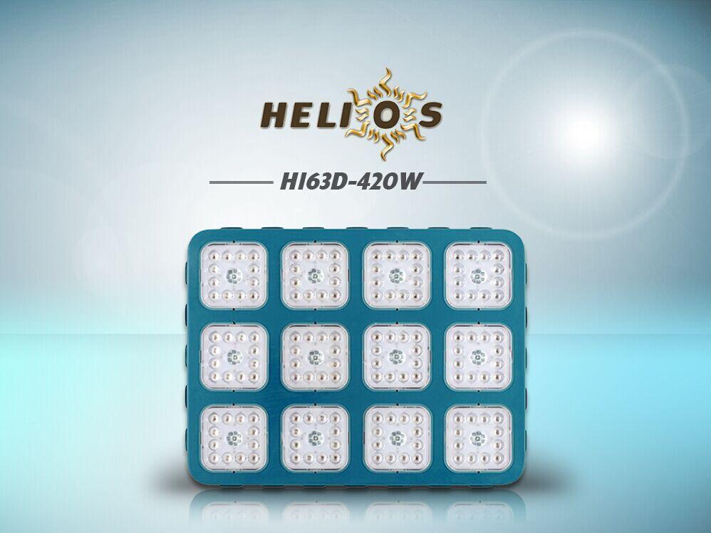 Helios LED Grow Light 5 Watts CREE LEDs Ամբողջ սպեկտրային օպտիկական ոսպնյակների մոդուլի դիզայն Ներքին բույսերի աճում տուփ / վրանային հիդրոպոնիկ համակարգ