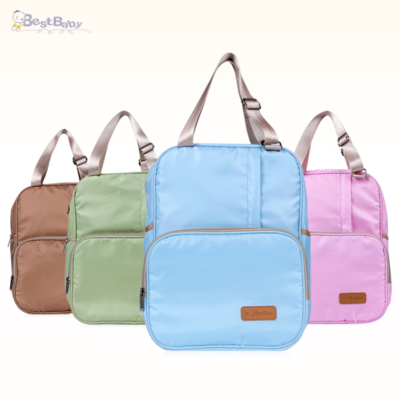 BEST BABY Mummy Bag Multi-functional Large-capacity Waterproof Shoulder Mummy Travel Backpack Nursing Bag for Baby Care functional capacity of mango leave extracts