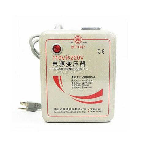 original 3000w 110v transformador conversor de voltagem 220v transformadores de