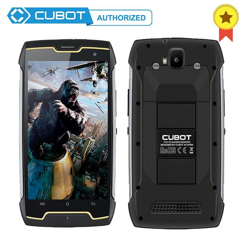 Original Cubot Kingkong IP68 Waterproof Shockproof 4400mAh Big Battery MT6580 Quad Core Andriod 7 0 2GB