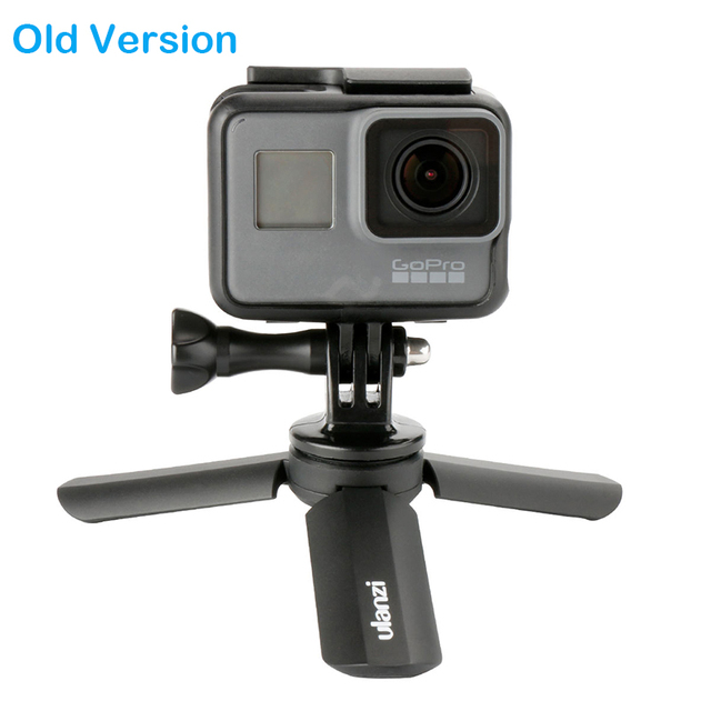 Ulanzi Mini Tripod for Phone, Smartphone Video Tripod Stand Handle Grip for DJI Osmo Pocket Gimbal Gopro 7 6 5 4 Zhiyun Smooth 4