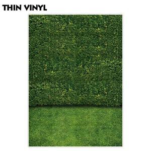Image 3 - Allenjoy צילום תפאורות טבע ירוק עלים קיר דשא דיוקן נוף רקע צילום שיחת וידאו תא צילום