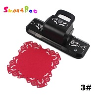Diy Scrapbooking Tool Large Paper Punch Punches for Scrapbooking Embossed Machine Coasters Photo Frame Flower Heart Border Punch