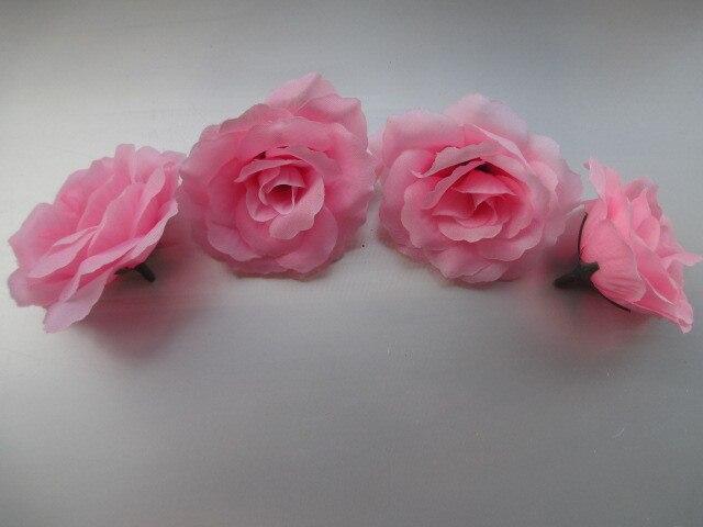 10 pz Colore rosa Piccola Rosa Tea Diy Del Fiore della Rosa Fiori Di ...