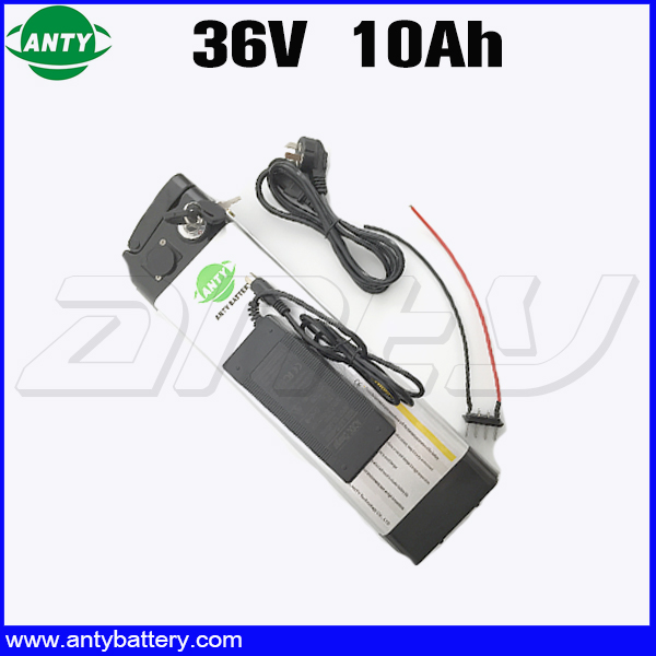 Electric Bicycle Battery 36v 10ah 350 Watt Lithium ion Battery 36v With 42v 2A Charger 15A BMS eBike Battery 36v Free Shipping free customs taxes 36v 10ah li ion battery 36v 10ah water bottle lithium battery 36v 10a battery for ebike with bms and charger