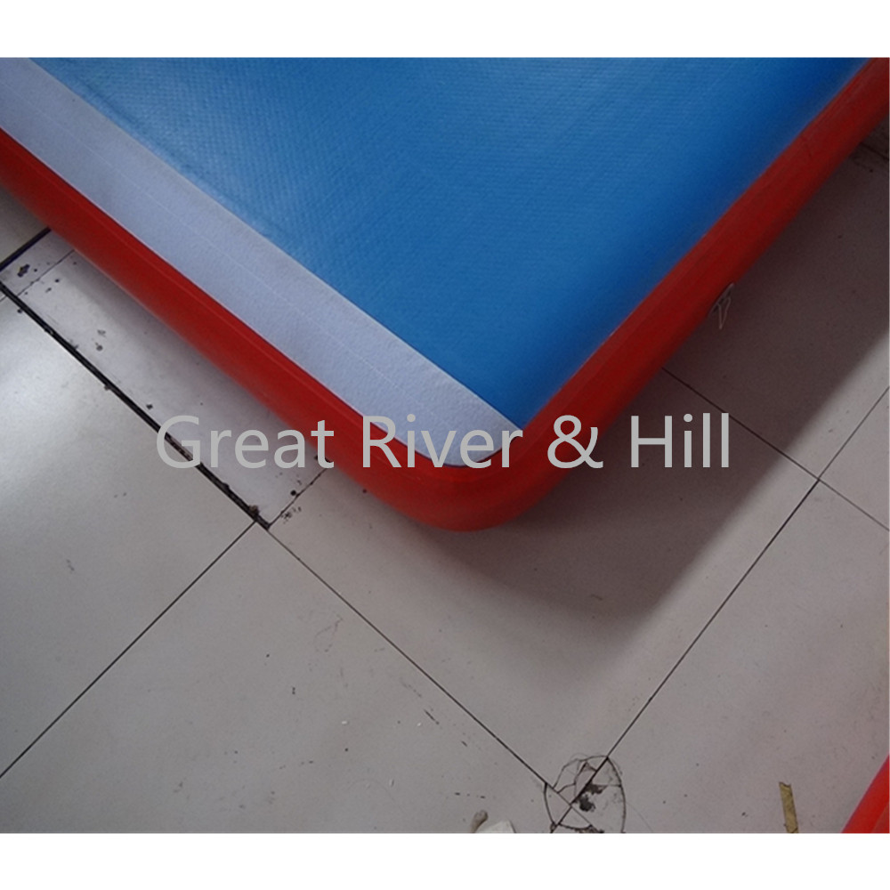 Great river & hill training mats air track high quality for gymnastics with fedex shipping and tax 5m x2m x20cm