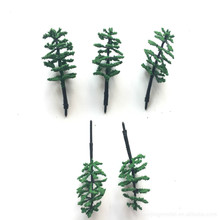 100pcs/lot architecture N scale model green tree in 6cm for ho train layout landscape and kits toy Christmas tree 30pcs lot 2018 colorful ho n oo architectural scale model abs plastic green trees 3 10cm model train landscape tree layout