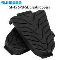 SHIMANO SH45 SPD-SL Road Bike Pedal Cleat Cover Plastic Professional Competition Anti-Slip Plate Cleat Cover for Bicycle Pedals