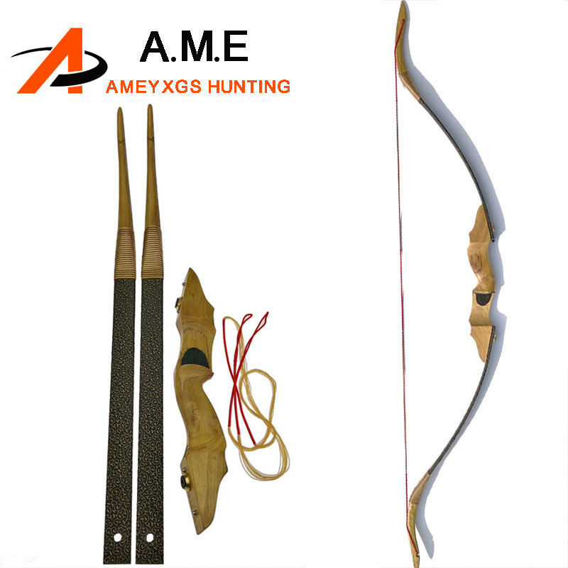 Qidi Archery Training Hunt Wooden Wood Arrows Blue Real Feathers wholesales Archery