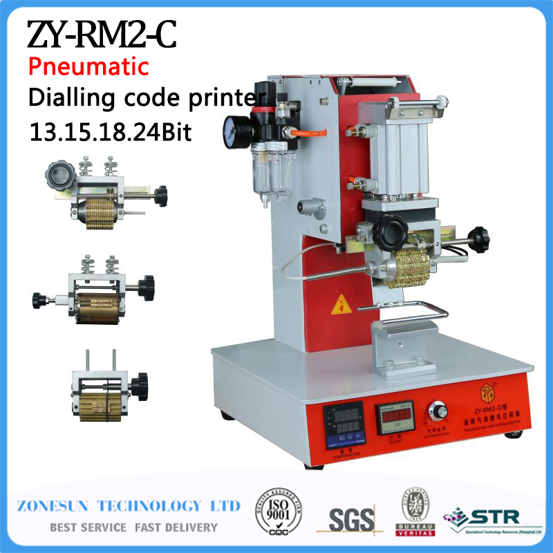 ZY-RM2-DP Pneumatic Dialling code printer,Dial coding machine,Automatic Stamping Machine,leather LOGO Creasing machine 1pcs zy rm6 semi automatic shoe box coding machine pedal code printer code letter press card embosser printer