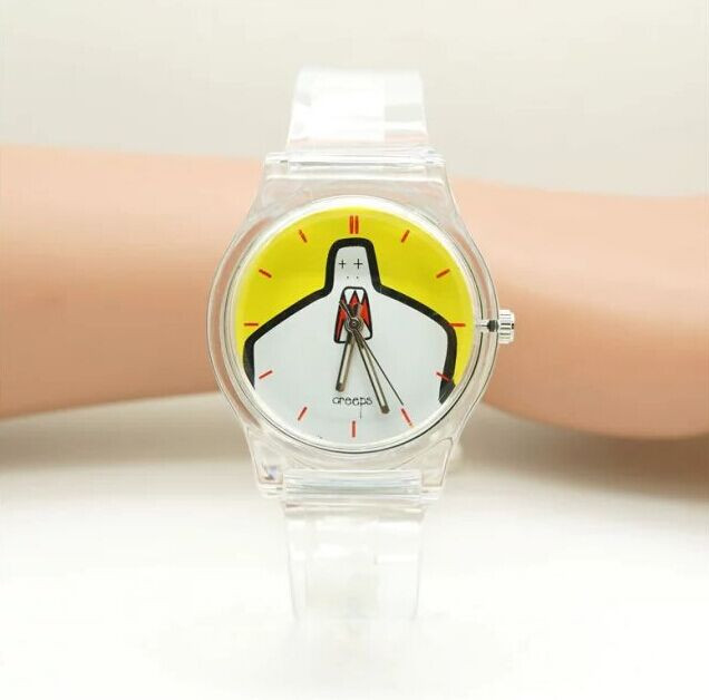 WILLIS  Jelly Watch Trendy Children's Analog Watch With Silicone Strap Silicone Watch