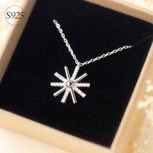 Descendientes del Sol Sol Collares y Colgantes Rhinestone 925-sterling-silver Song Hye Kyo Corea Esterlina de plata-joyería