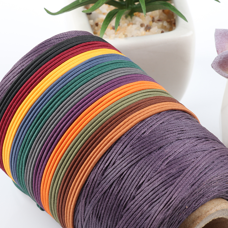 50 Meter Colorful Elastic Rope For Traveler Notebook Diary DIY Rubberr Band Connecting Insert Filler Paper Binding Pages