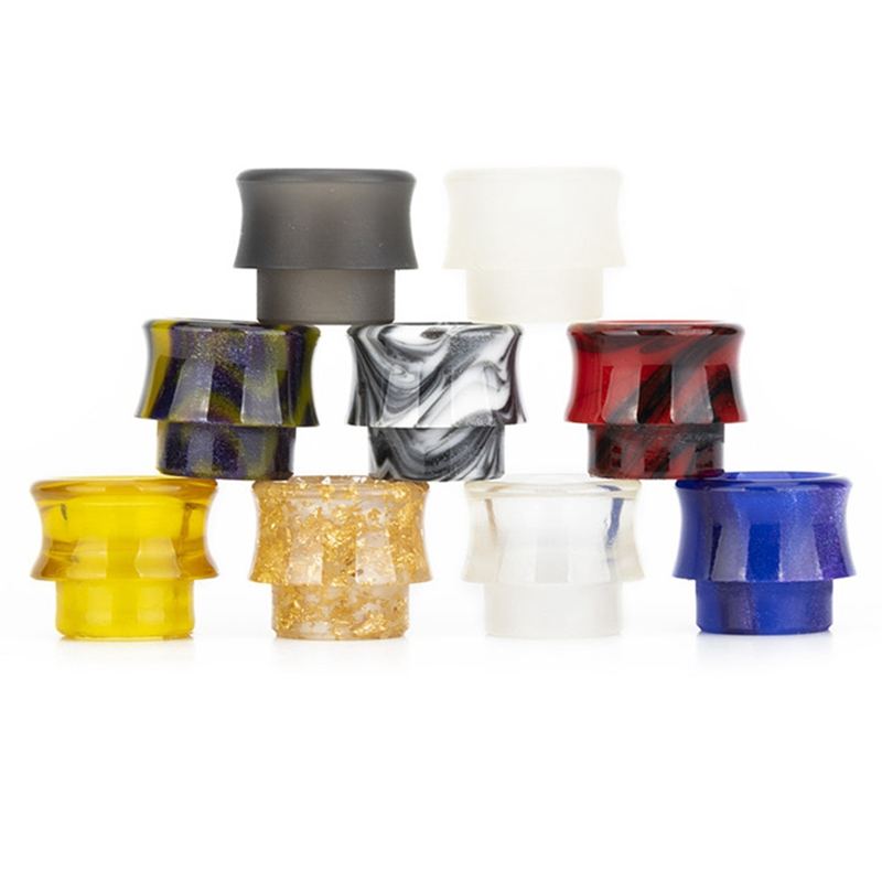 810 Electronic Cigarette Accessory Epoxy Resin Wide Bore Drip Tip For Kennedy RDA Goon 528 RDA Ecig Vape Mouthpiece