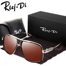 Square Sunglasses Men Brand Design 18K Gold Plated Glasses Lady Sunglasses Women Brad Pitt Sun Glasses Male Female UV400