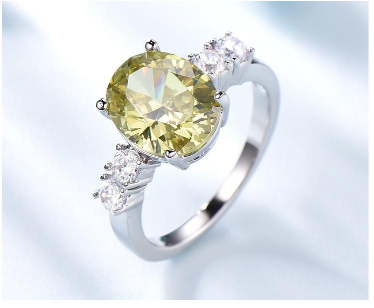 Honyy Apple Green 925 sterling silver earring for women RUJ093Z-1-app (5)