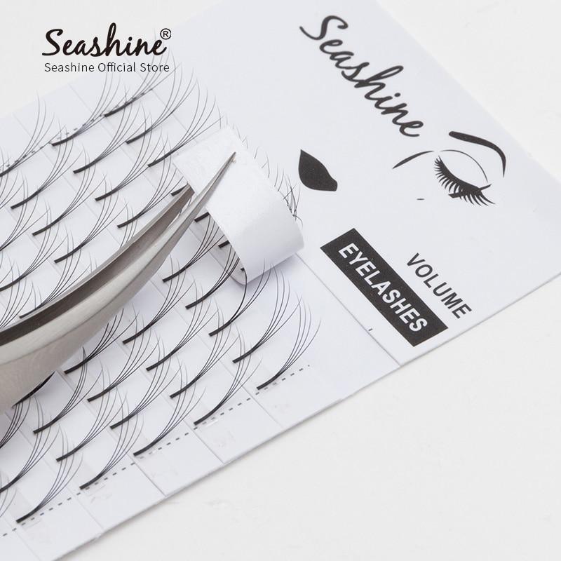 Long Stem Volume Lash Supplies Eyelash Extension Premade Fans 2Bundles 7Bundles Russian Volume Lash Soft And Curved Premade Fans in False Eyelashes from Beauty Health